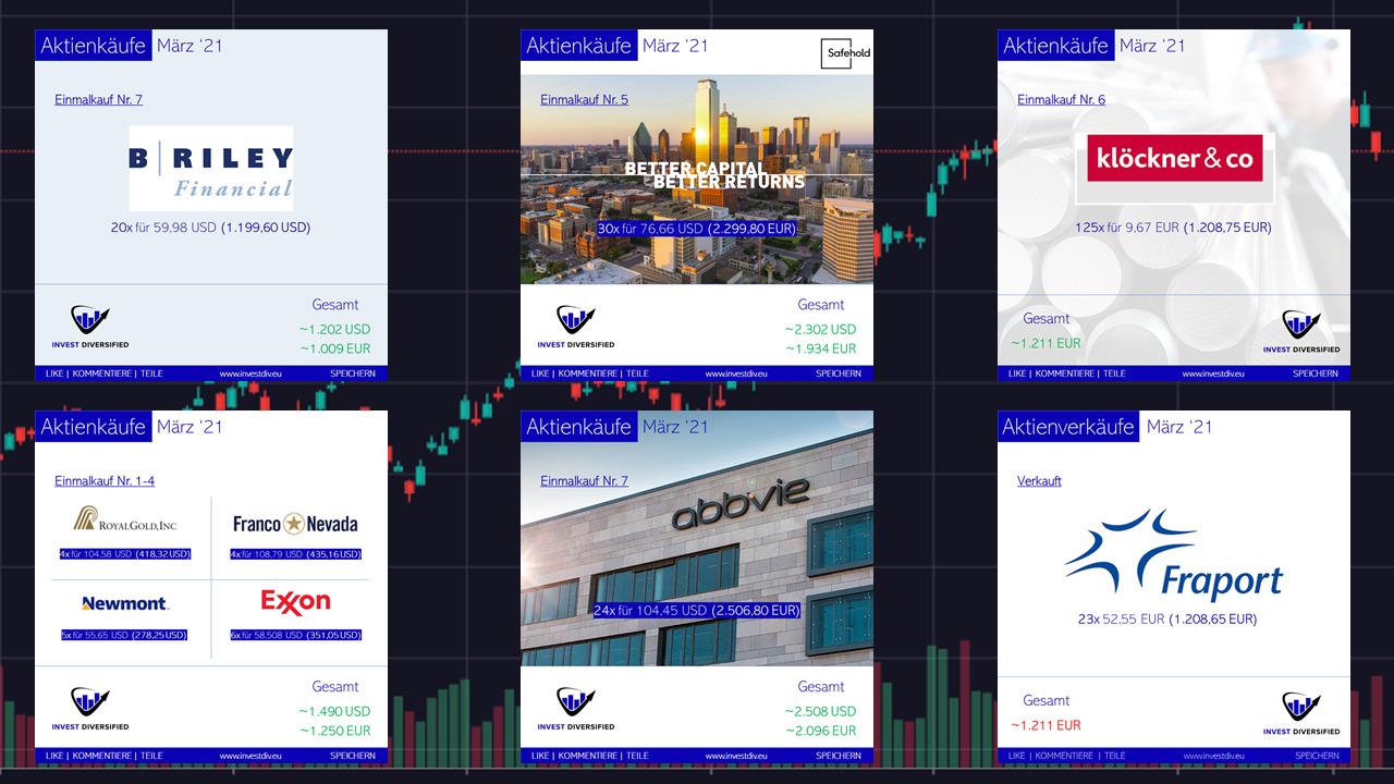 aktienkäufe im märz 2021